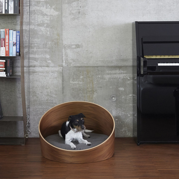 Covo Dog Bed - Walnut