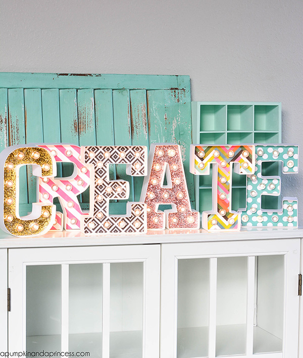 Create Marquee Letters