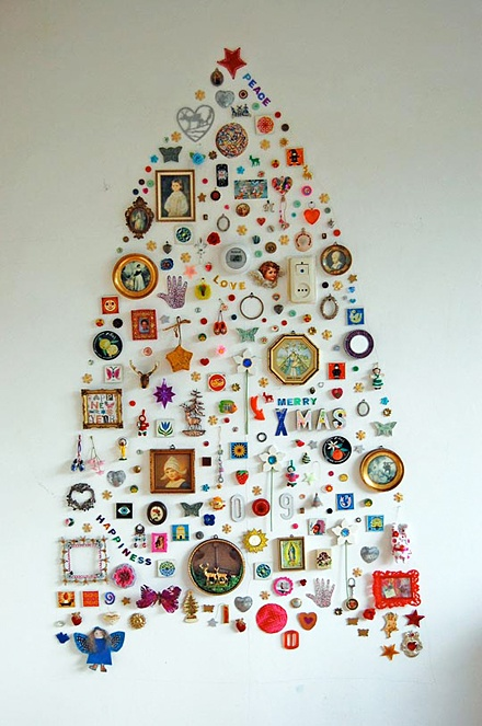 Creative Wall Christmas Tree