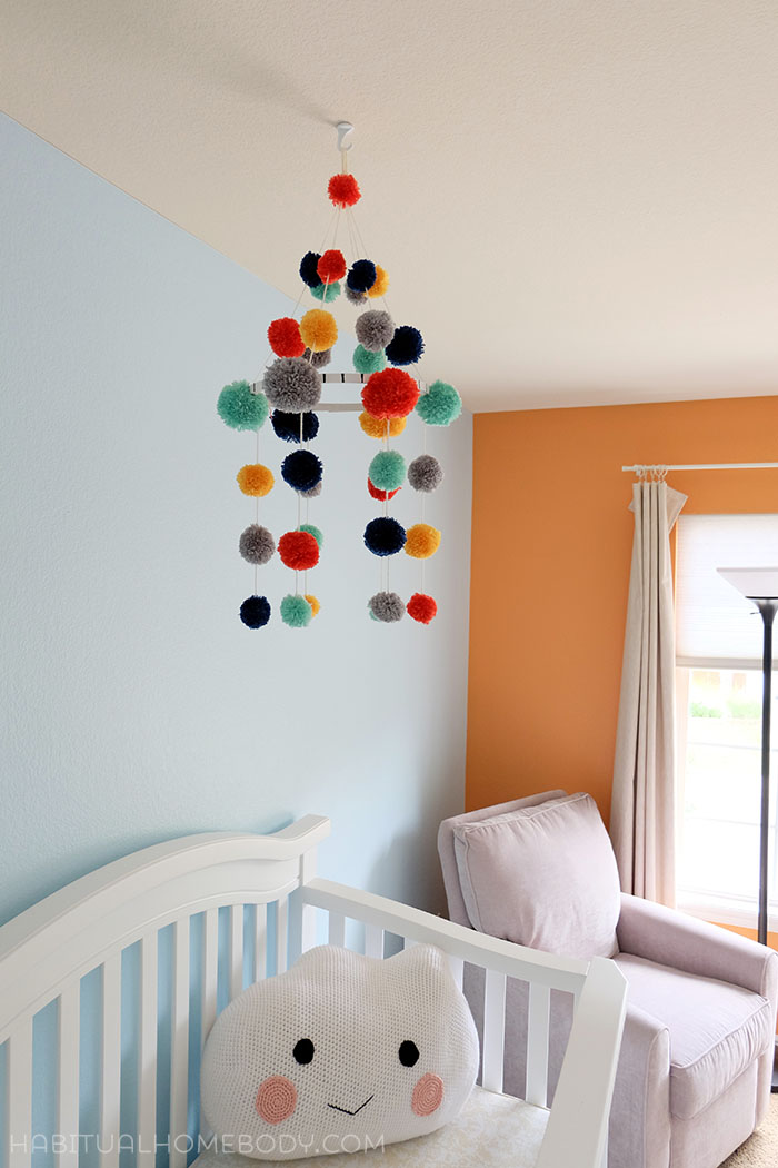how to make a baby mobile cute and colorful ideas. Black Bedroom Furniture Sets. Home Design Ideas