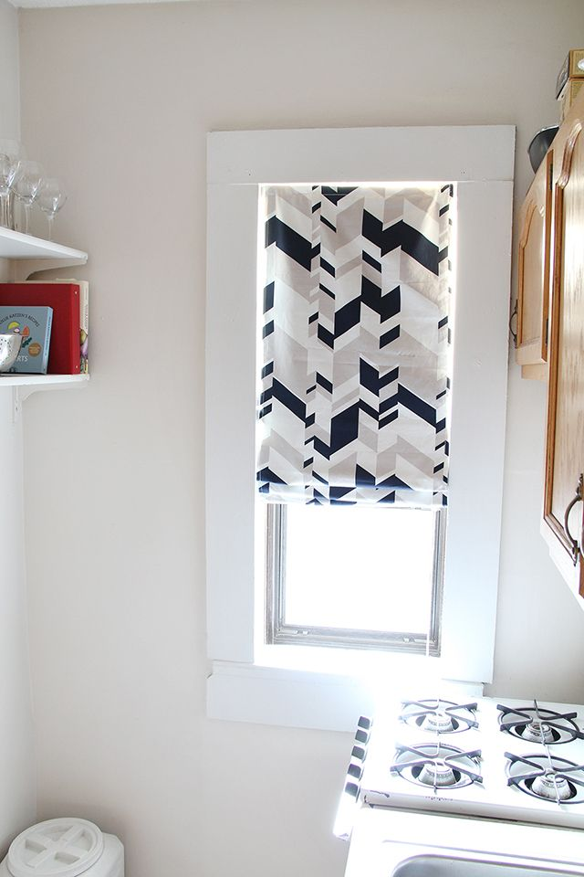 DIY Roman Curtain