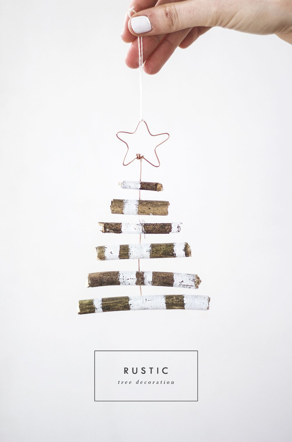 DIY Rustic mini Tree