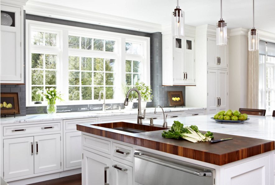 20 Examples of Stylish Butcher Block Countertops