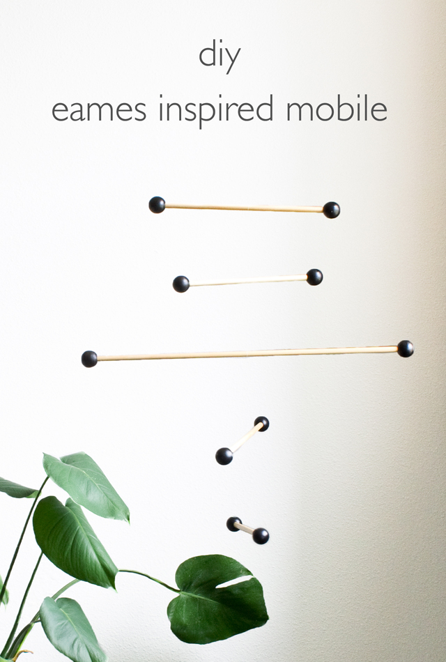 Eames inpired mobile
