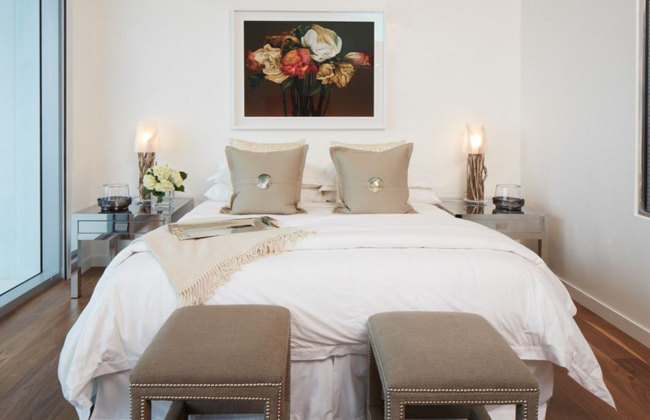 . Using Taupe To Create A Stylish and Romantic Bedroom