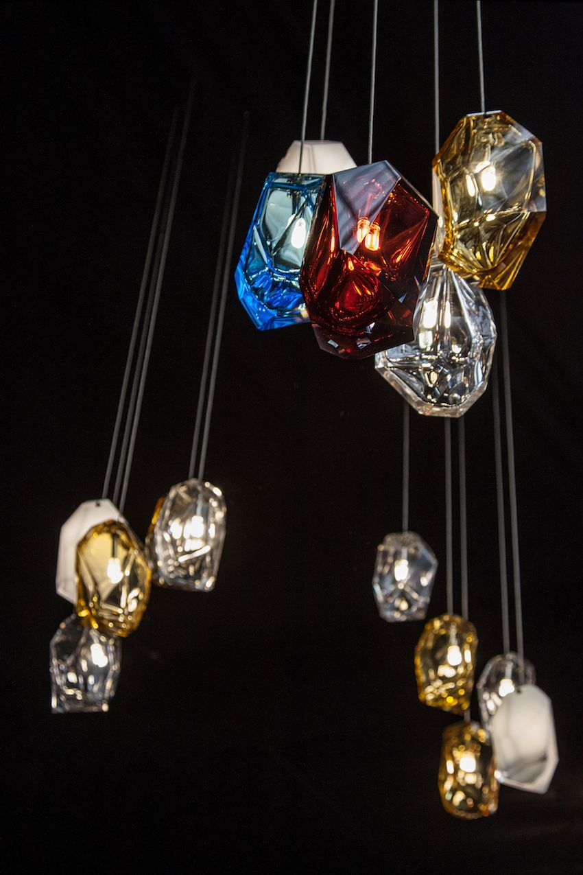 Erik Levy, who created these fixtures, is an artist, technician, photographer, designer and filmmaker.