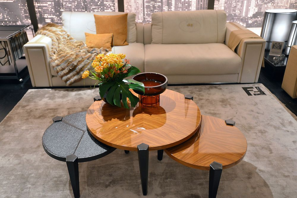 Fendi coffee table design at Miami