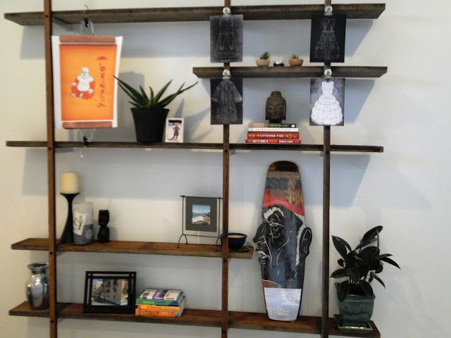 Reclaimed Wood And Metal Wall Shelves: 60 Ways To Make DIY Shelves A Part Of Your Home's Décor