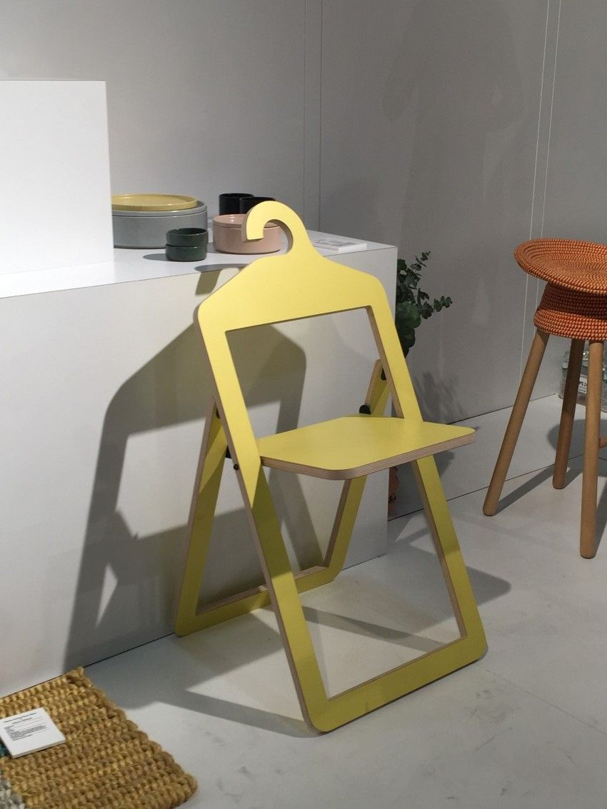 Folding Umbra chair open
