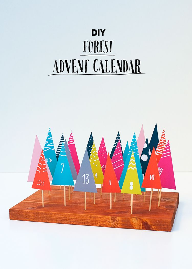 Forest Advent Calendar