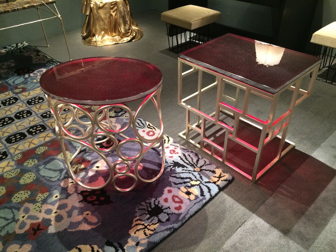 Gallery Red top tables