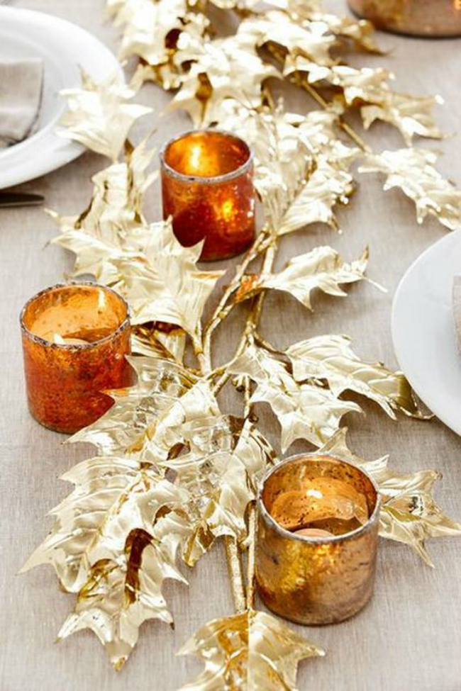 14 ideas for dressing your thanksgiving table on a budget Cheap thanksgiving table setting ideas