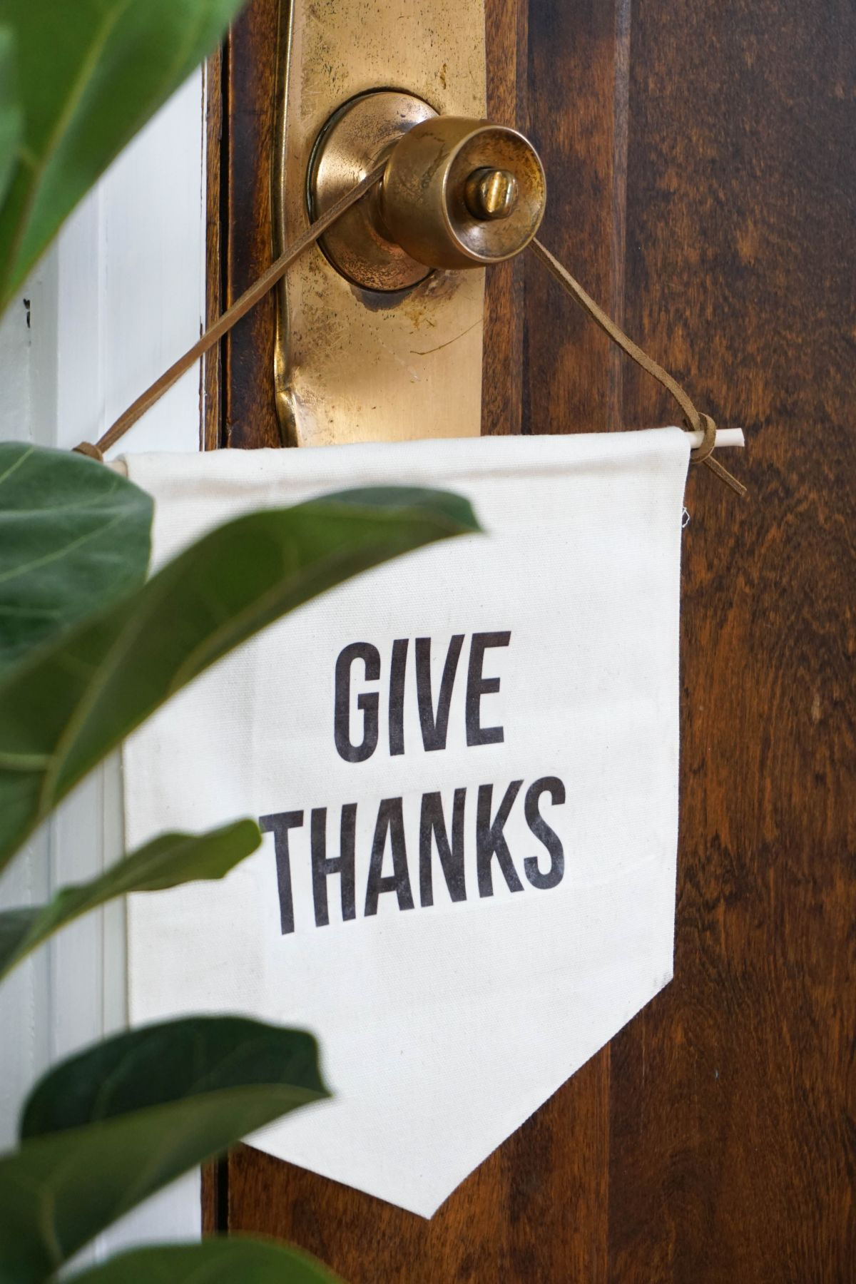 Give Thanks Banner DIY