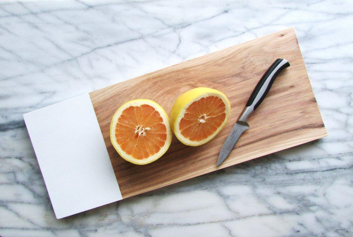 Handmade modern chop board