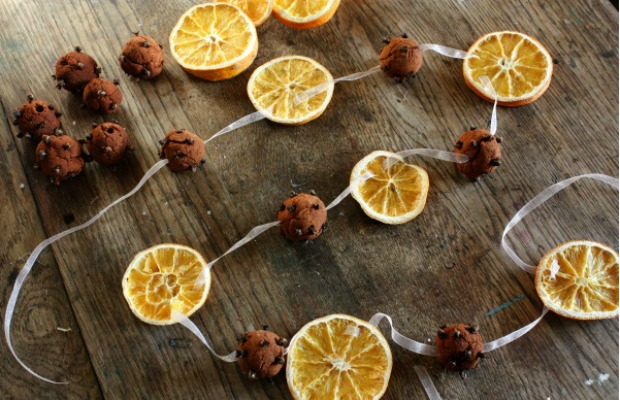 Hang a sweet-smelling garland