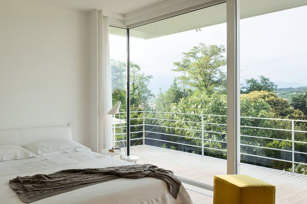 House C by Zaetta Studio bedroom and terrace