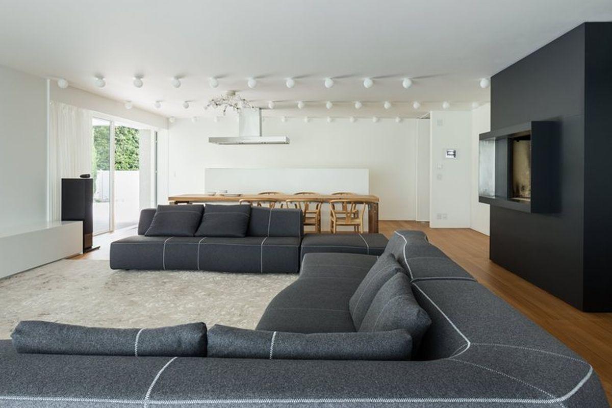 House C by Zaetta Studio ground floor living space
