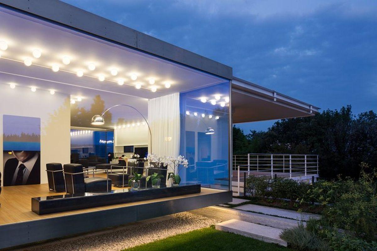 House C by Zaetta Studio panorama window and views