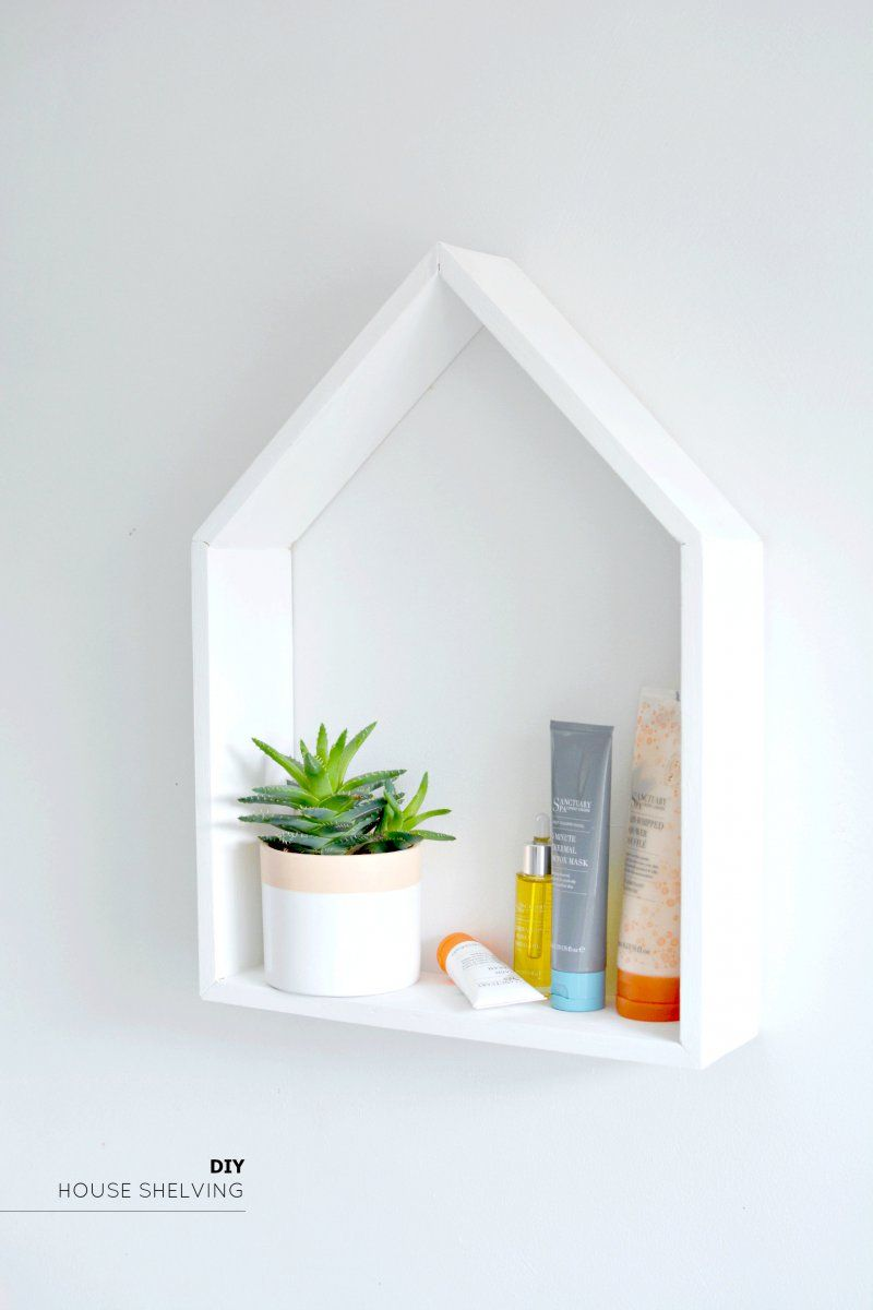House shelving diy