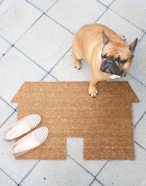 House welcome mat