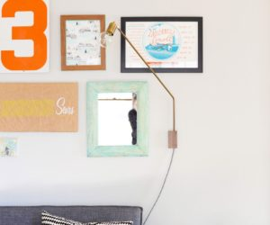 DIY Swing Arm Sconce Wall Lamp