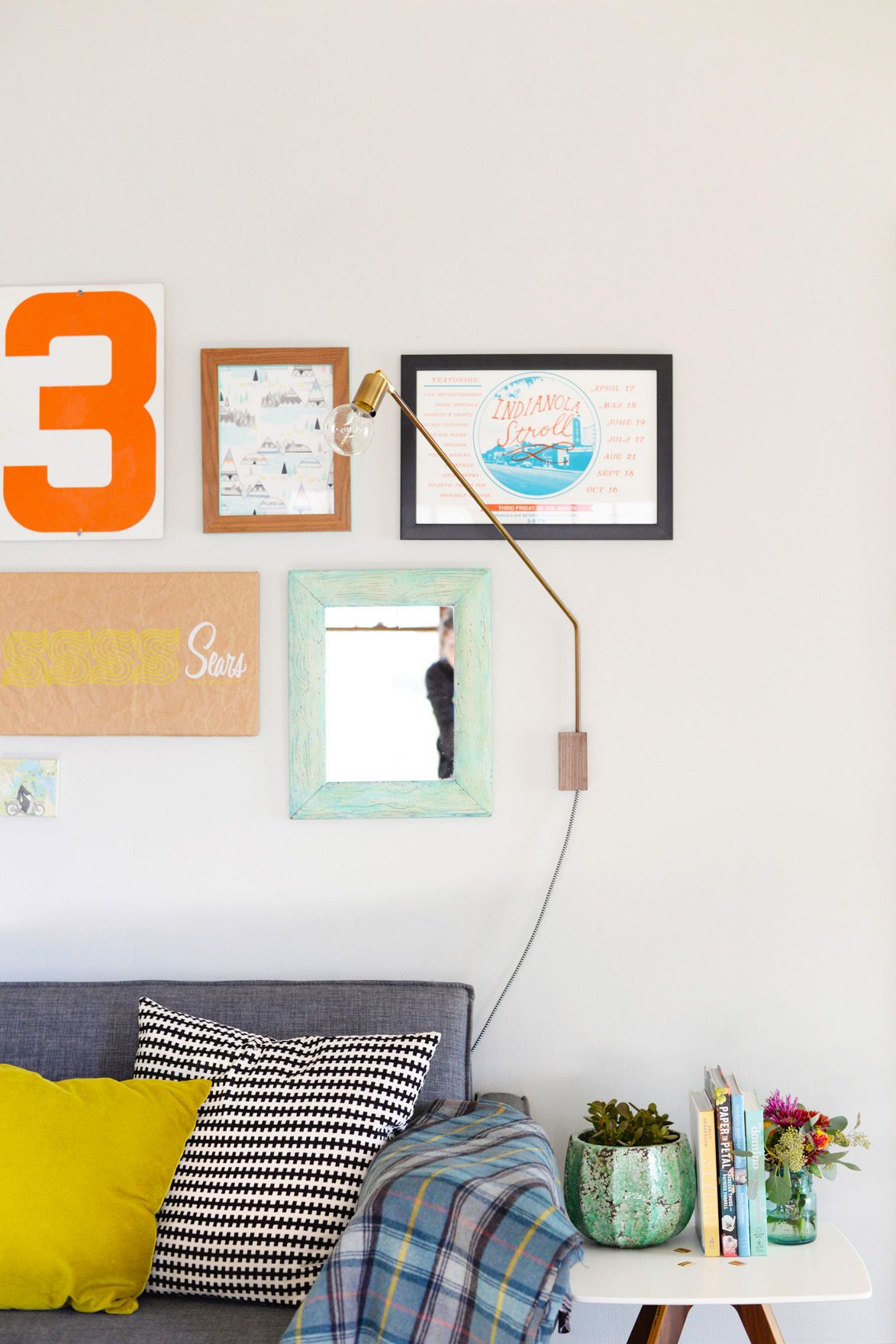 How To make a Swing Sconce Lamp