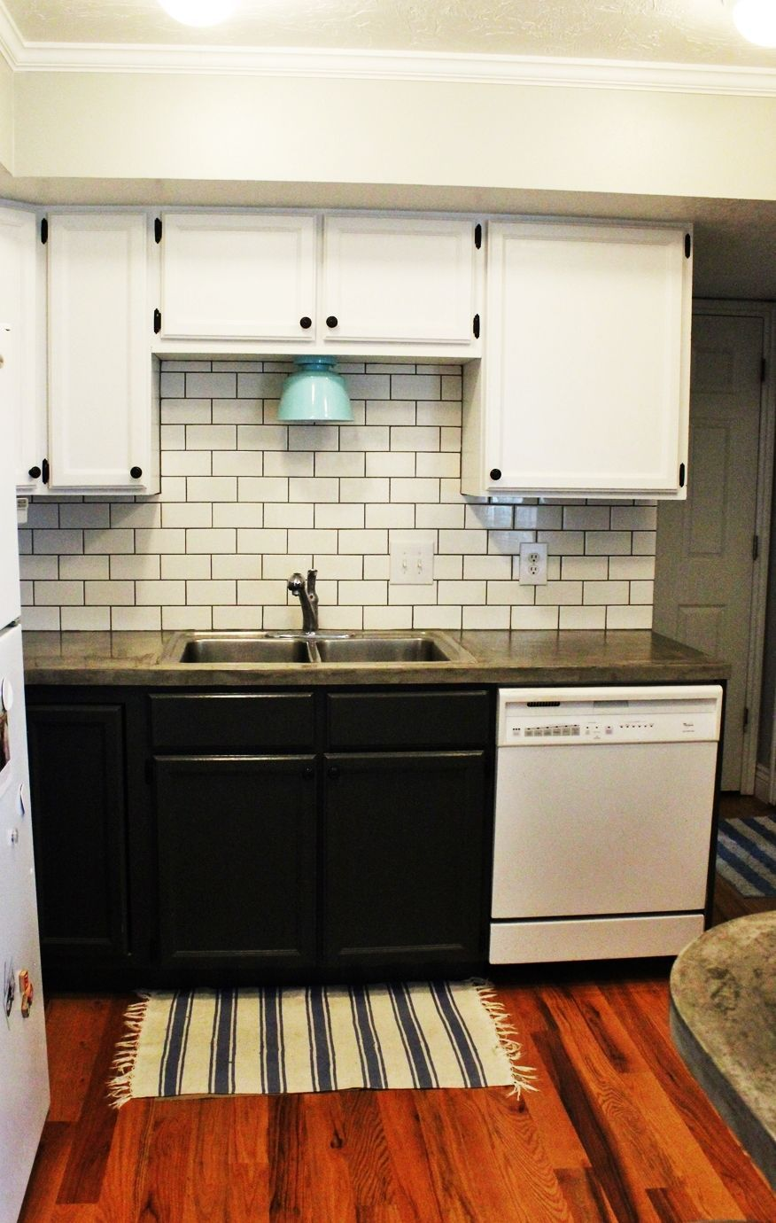To install a subway tile kitchen backsplash how to install kitchen subway for backsplash dailygadgetfo Choice Image