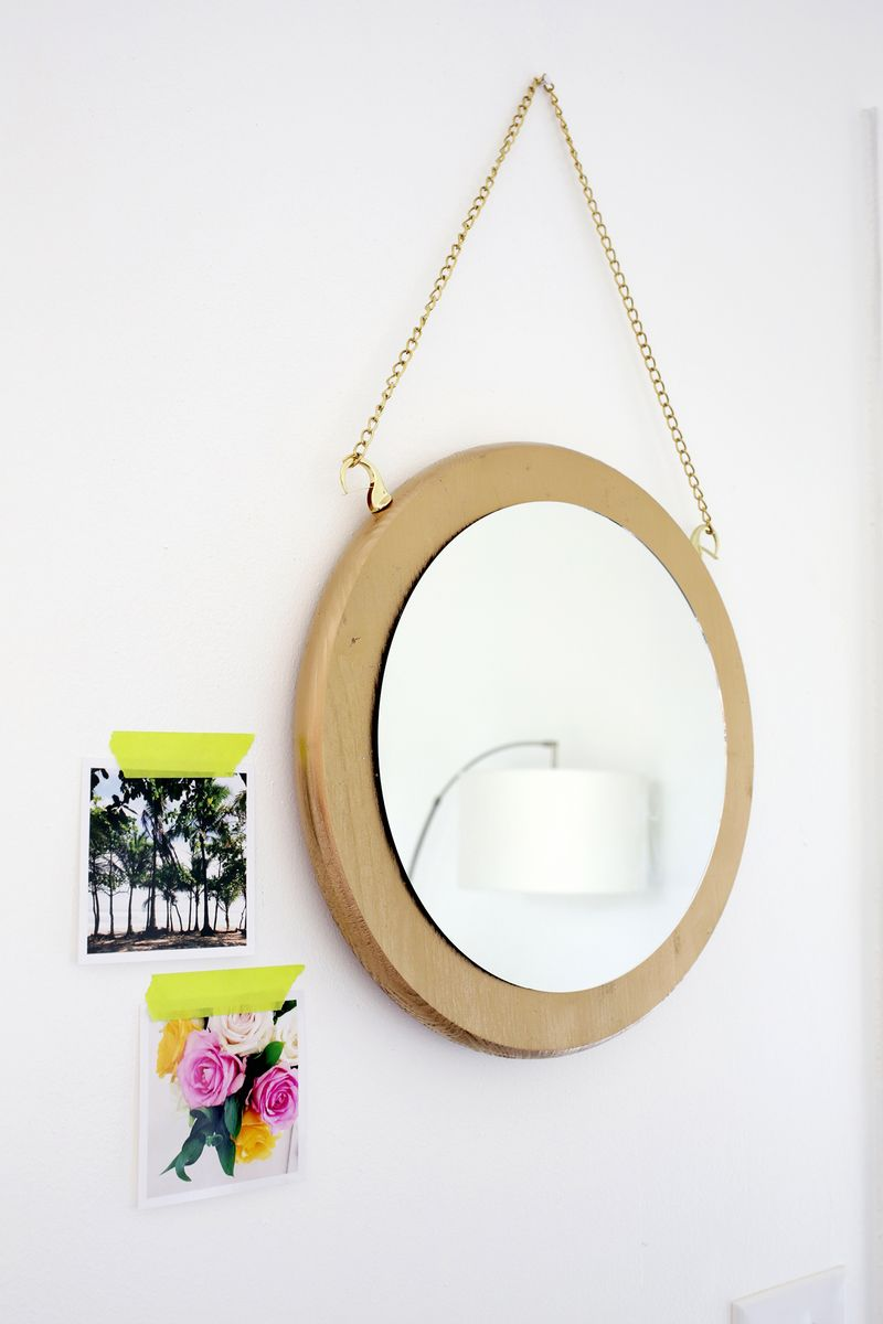 How to make a Circle chain mirror