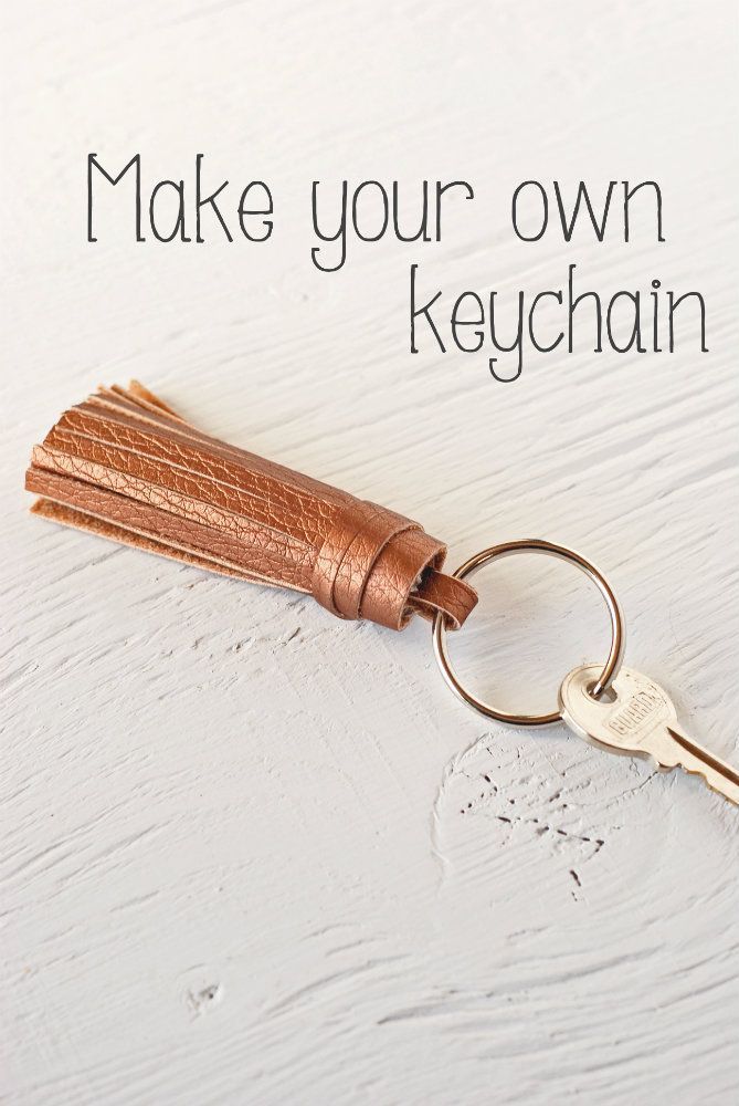 How to make your own keychain