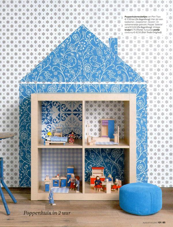 Ikea Expedit Dollhouse