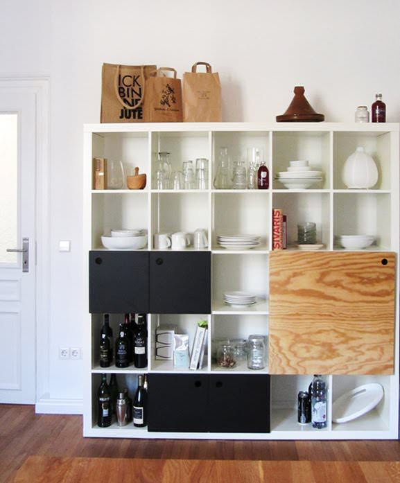 Ikea kitchen storage - Expedit Unit