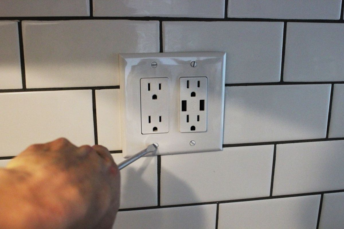 How To Install A Usb Wall Charger Outlet Electric Wiring Your Tile Or Whatever Else