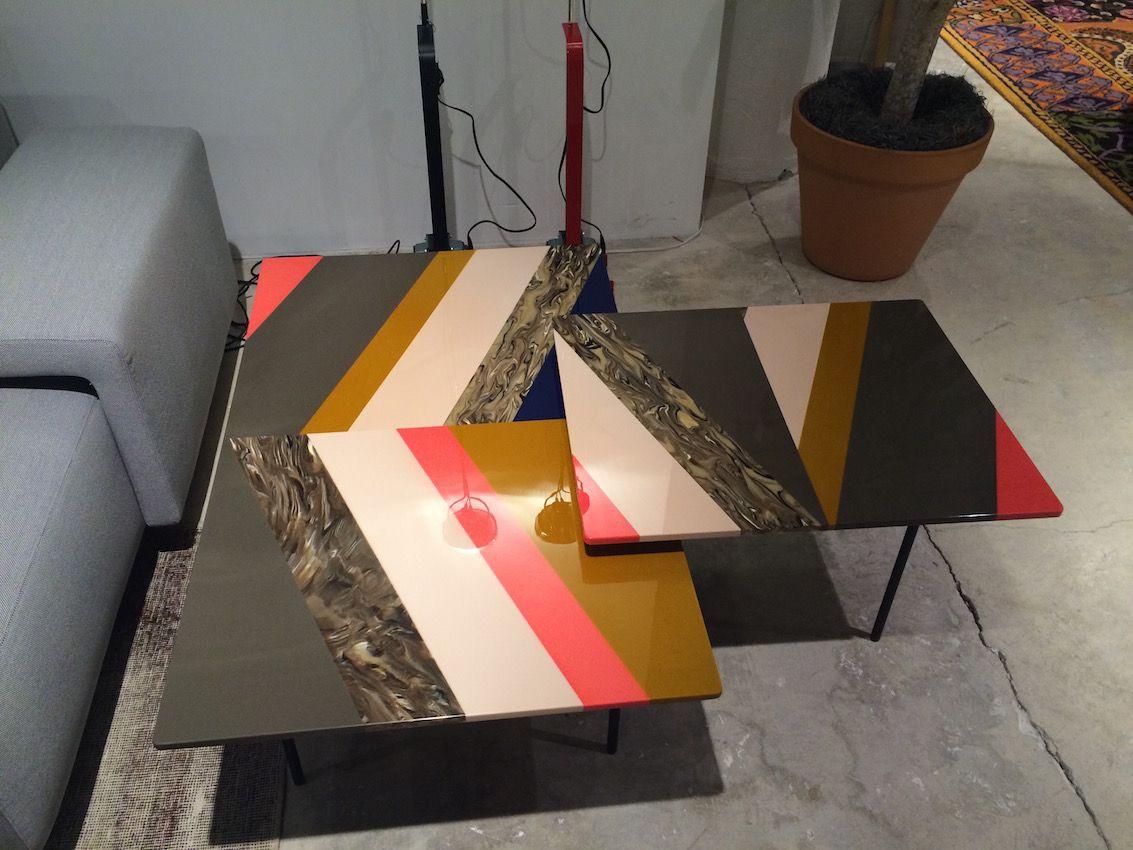 Internum striped tables