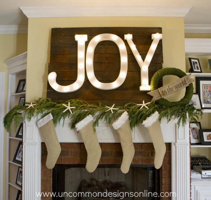 JOY craft marquee letters