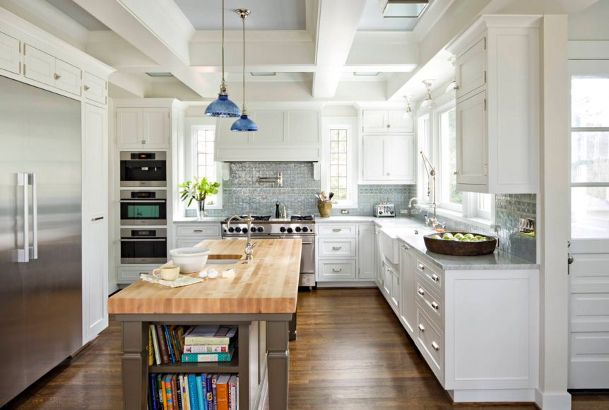 Kitchen Island With Storage For Cooking Books