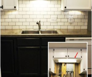 DIY Kitchen Lighting Upgrade: LED Under-Cabinet Lights & Above-the-Sink Light