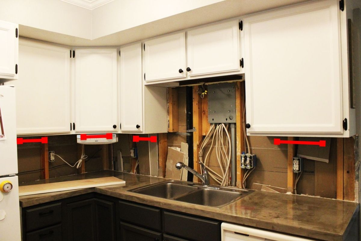LED under the kitchen cabinets & DIY Kitchen Lighting Upgrade: LED Under-Cabinet Lights u0026 Above-the ...