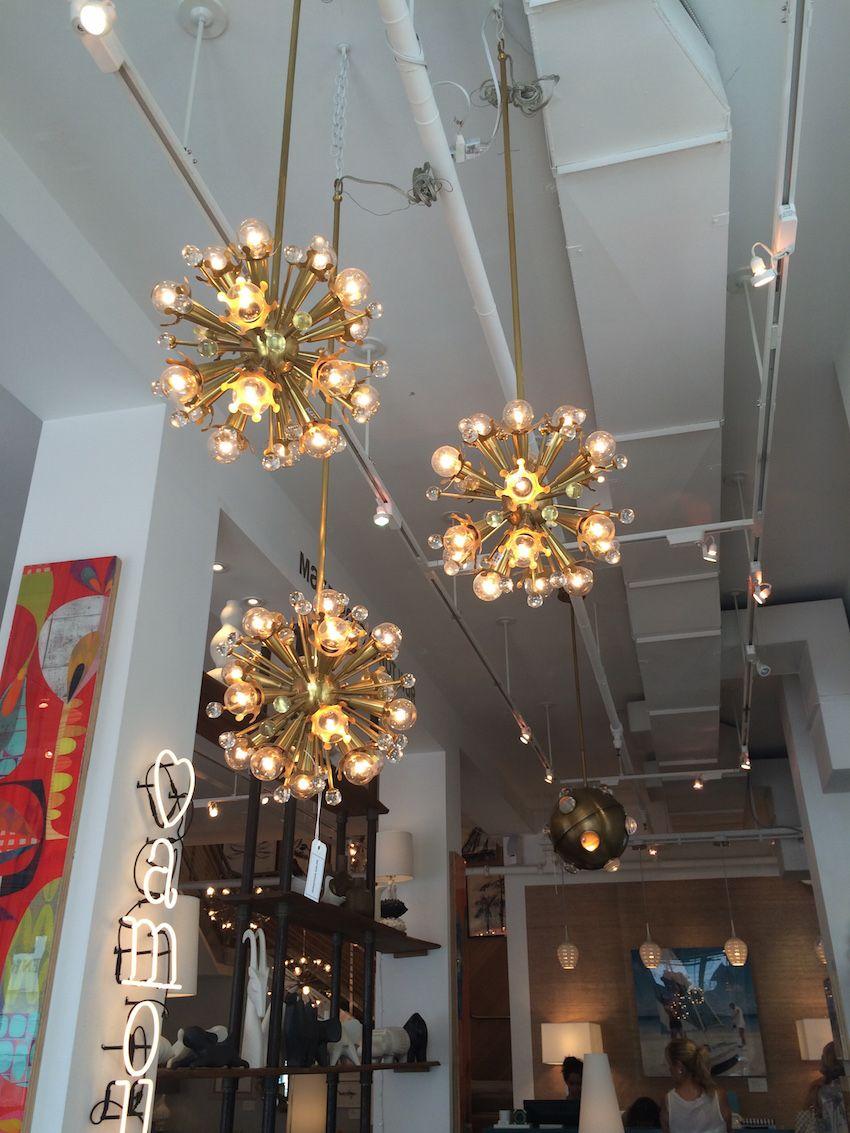 Custom laser-cut crown cups enhance the bulbs, as do the crystal accents.