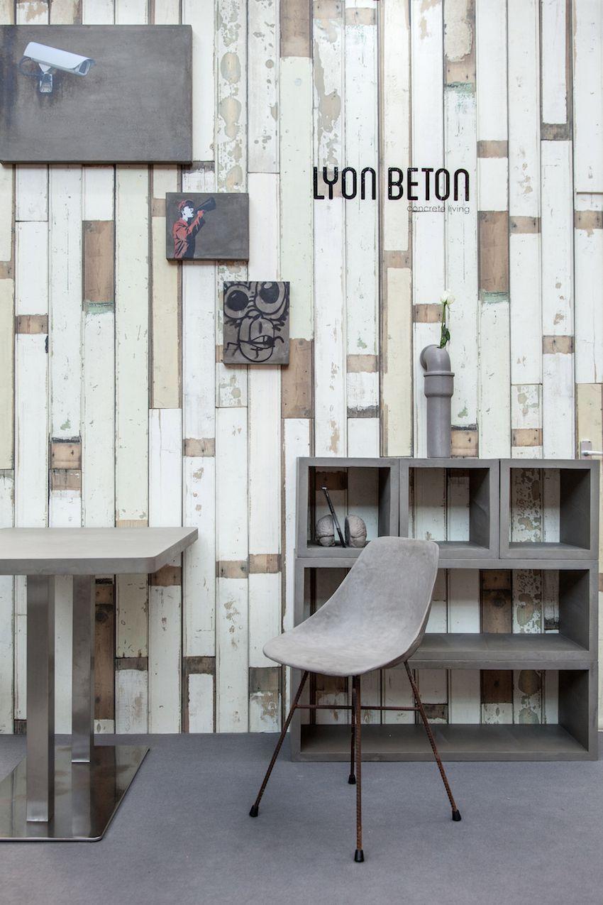 Lyon Benton Chair Gray Minimalist
