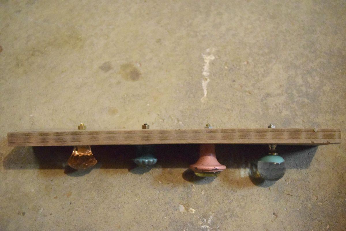 Making door knob jewelry display