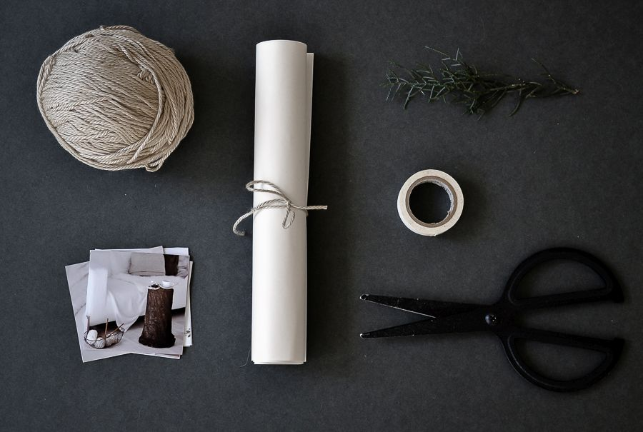 Materials to wrap gifts easy