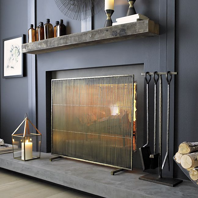 Awe Inspiring 10 Gorgeous Fireplace Screens For Every Home Download Free Architecture Designs Rallybritishbridgeorg