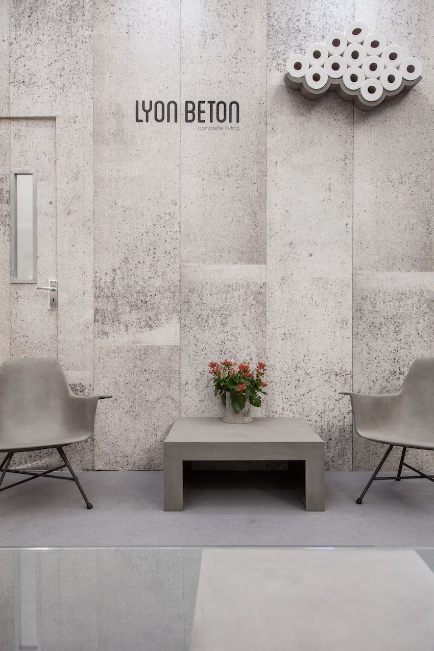 Minimalist Lyon Benton Concrete Furniture