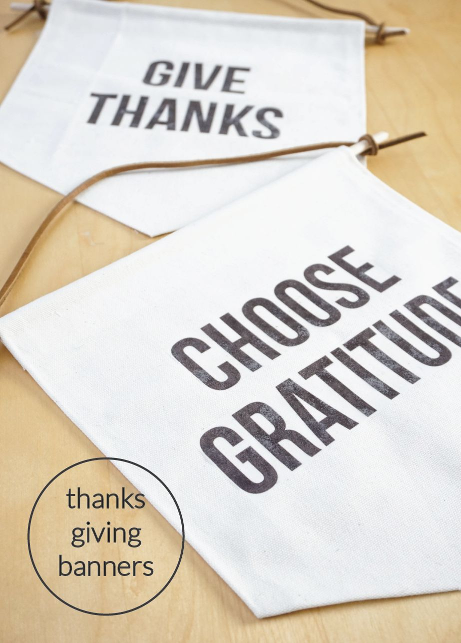 Modern Thanksgiving Banners