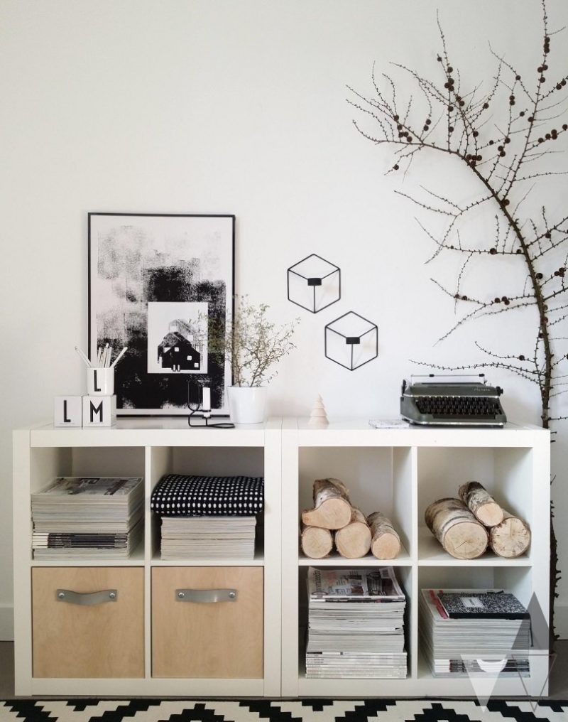 Different Ways To Use and Style Ikea's Versatile Expedit Shelf
