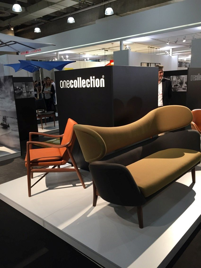 Onecollection's Baker Sofa and 45 Chair.