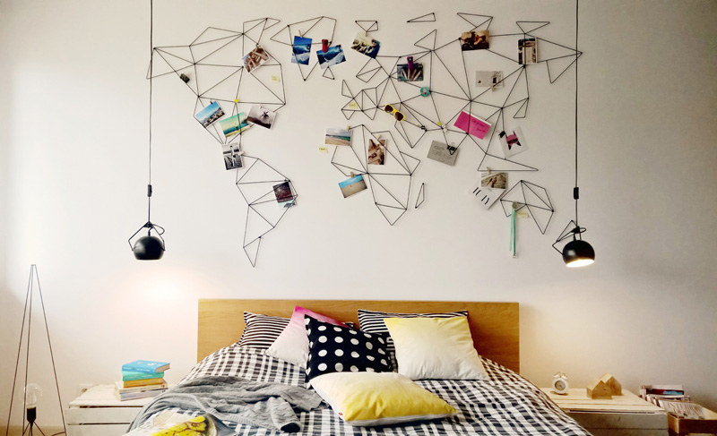 10 Original Ways Of Displaying Pictures In Your Home Idea