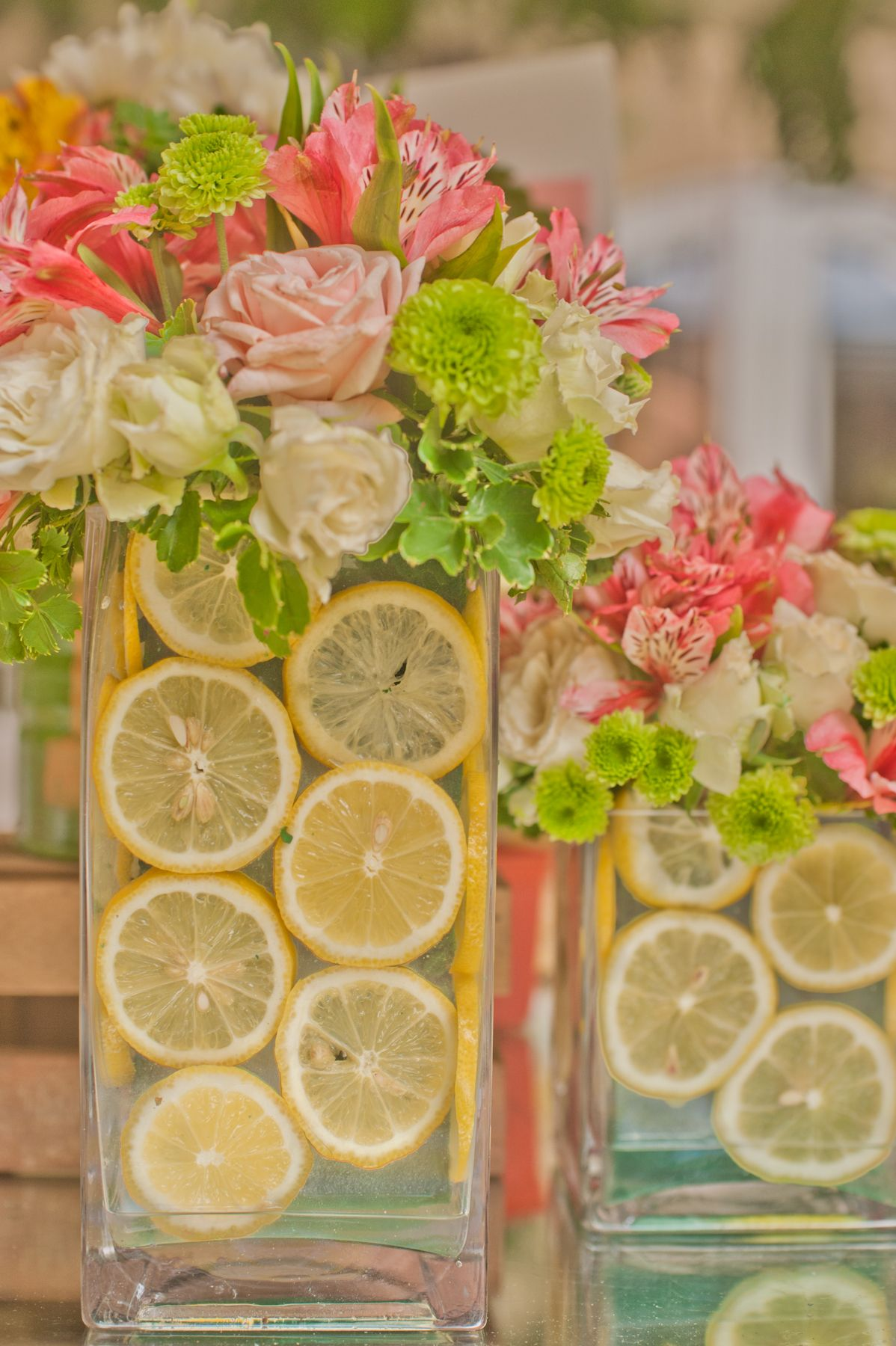 Pink Lemonade Tea Party Flowers