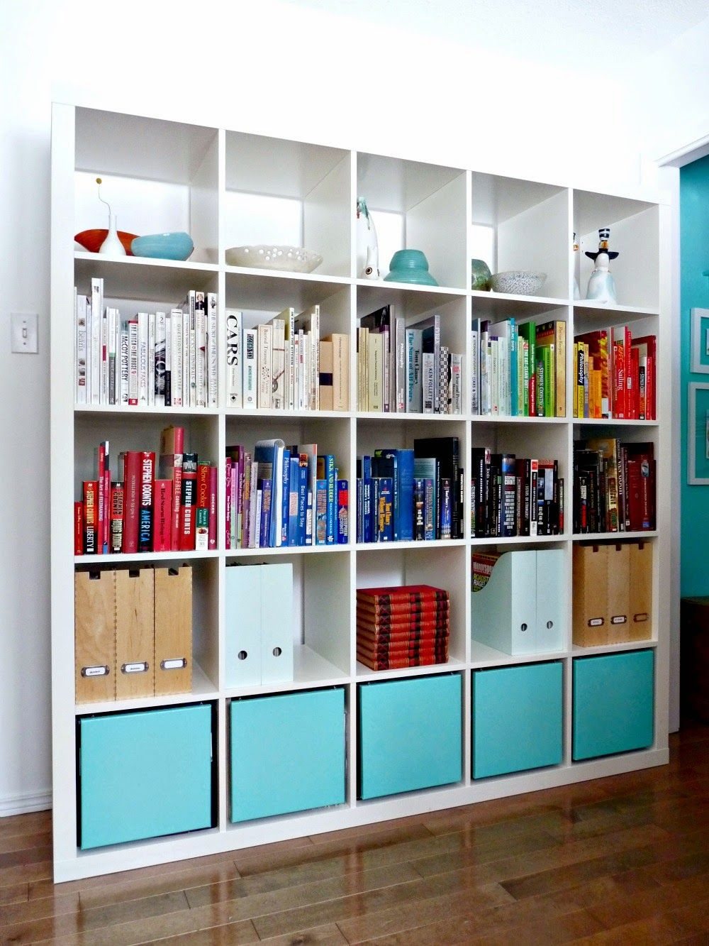 Popping Bookcase Ikea Expedit