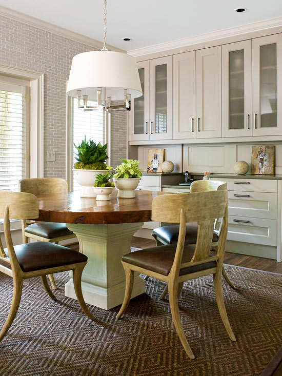 Potted plants for dining table